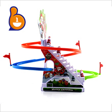 hot selling kids playset orbit toy electric mini toy car track with light and music