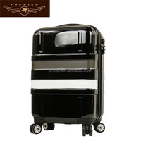 printing wheeled abs hard case luggages wholesale