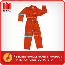 China Hot Selling top quality low price SLA-A6 Cotton Working Coverall workwear coverall safety coverall
