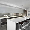 modern kitchen designs with island and seats