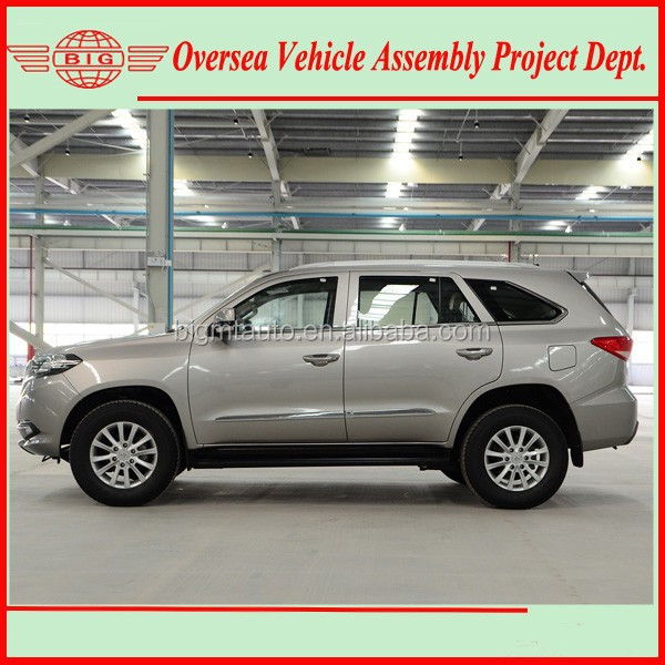 4 cylinder diesel type new suv (skd/ckd kits available for local assembly plant)