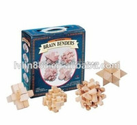 Interlocking Puzzle Game Wooden Blocks3d Wooden Puzzle Game for Kid