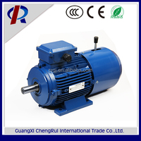 MSEJ series energy-saving 3 phase magnetic clutch brake gear motor for sale