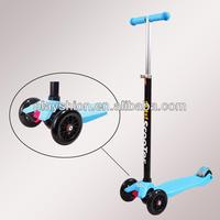 large super kick scooter 2 wheel 120mm kick push scooter for adult 2013 new design custom pro kick scooters