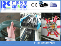 china high quality pe threading pipe extrusion machine