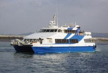 155P Catamaran passenger ship for sale Aluminum