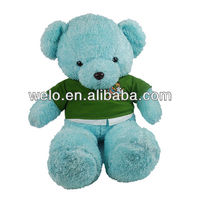 Lovely super soft bear toys with clothes