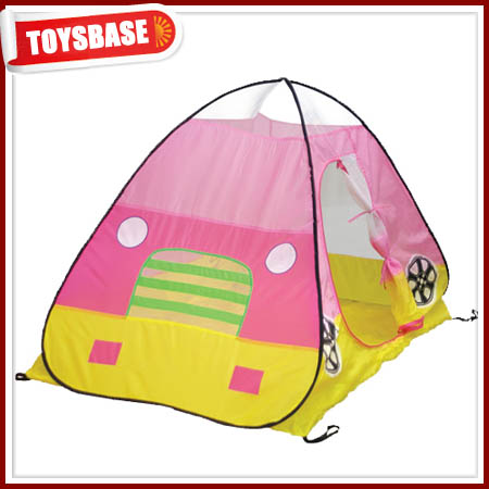 Girls favorite pink color kids bed tent canopy
