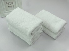 China cheap 100 cotton white face towel pakistan factory