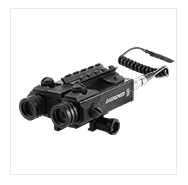 Pistol 5mw tactical green laser sight and flashlight