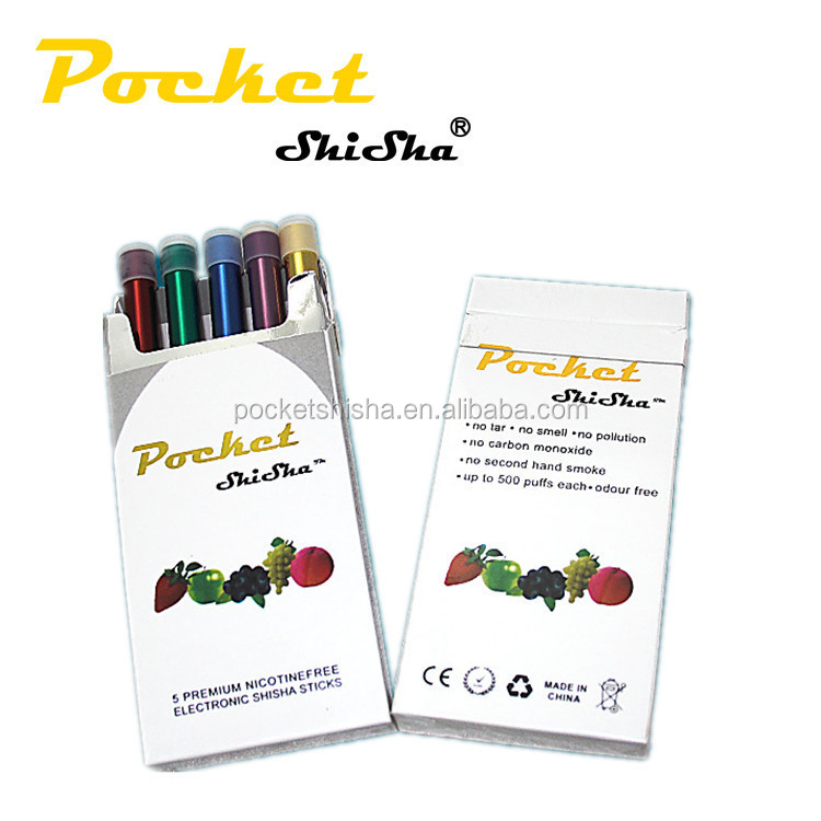wholesale in the world disposable electronic cigarette brand pocket shisha 500puffs shisha bottle hookah pen