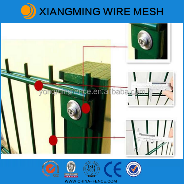 welded wire mesh fencing / garden fencing / double wire fencing