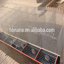 Galvanized Steel Wire Cage for Mink Breeding