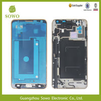 Mobile Spare parts Front Housing LCD Frame Bezel Plate Replacement for Samsung Galaxy Note 3