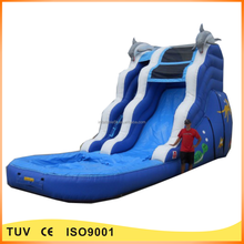 Hot sale commercial inflatable water park used pool slide for kids and adults