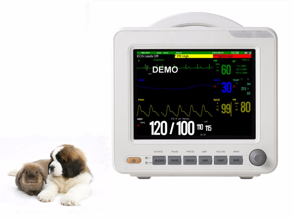 "New 8.4"" veterinary obstetrical instruments vet patient monitor"
