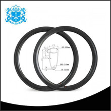 Hot style 3K/UD 50 clincher 23mm width road bicycle parts carbon fatbike rims