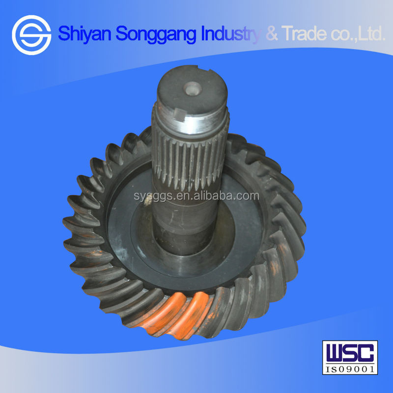 Dongfeng axle parts rear axle driving/driven bevel gears 2402ZH1827-025/26