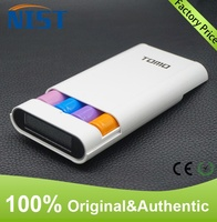 2016 trending products Multi-functional powerbank TOMO V8-4 18650 Lithium Ion battery charger + smart mobile power