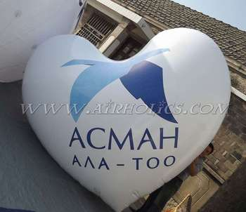 Floating Inflatable Heart Shape Balloon H4045