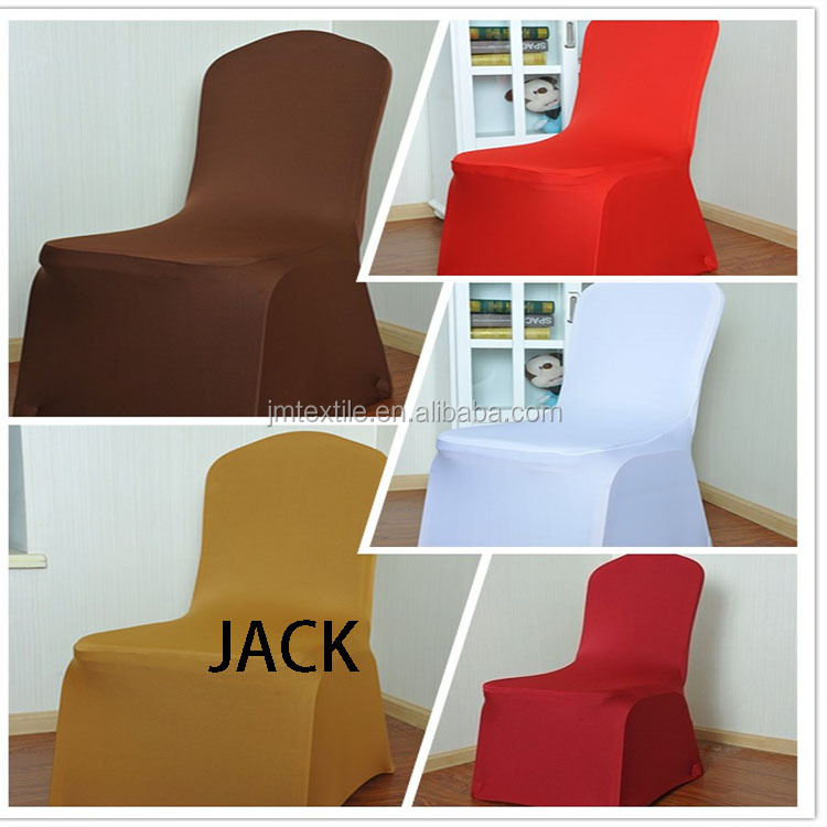 Stretch chair cover 190gsm fabric soft material