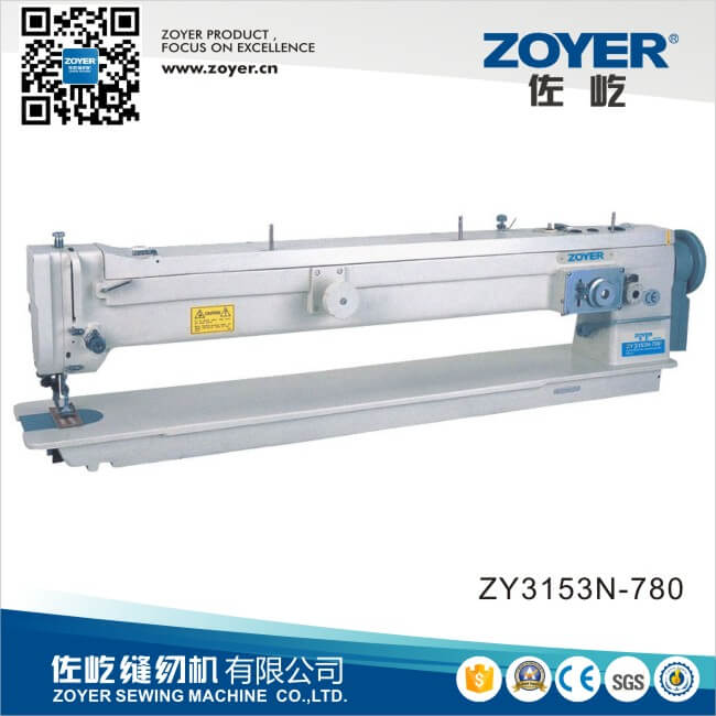 ZY3153N-780 Zoyer long arm zigzag household sewing machines for leather