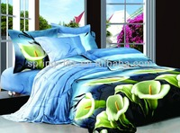 factory price 100% cotton home design bed sheets