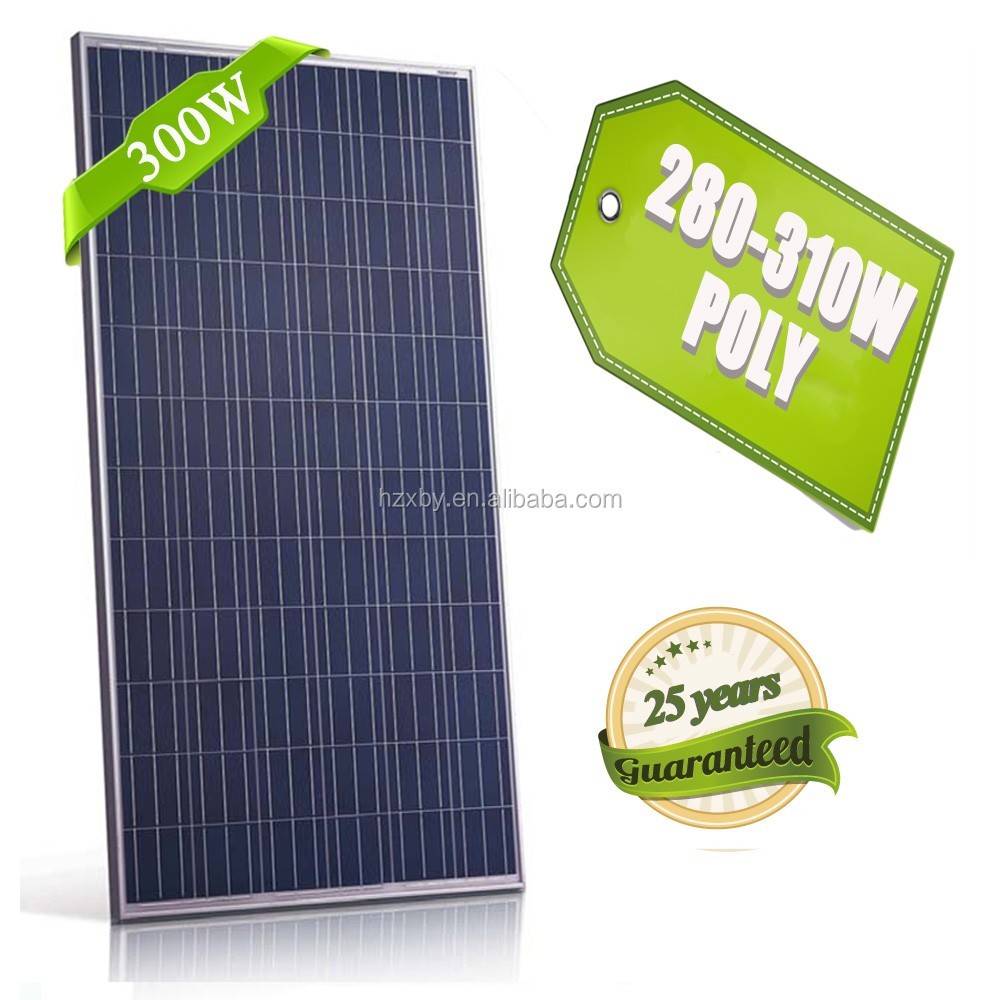 72pcs light weight 300 watt high efficiency flexible solar panels made in china