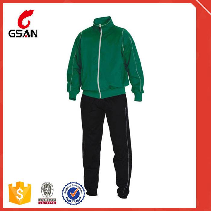 wholesale customized good quality sport tracksuits