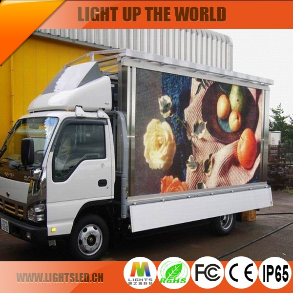 Fixed Variable Speed Limit Electronic Message Centers Mobile Truck DIP SMD LED Display Screen, P8 P10 LED Display Outdoor