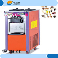 Commerical desktop liquid nitrogen soft ice cream machine/maker