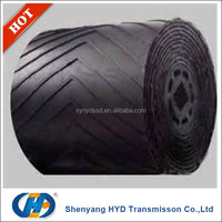 Direct Manufacturer chevron nylon conveyor belt