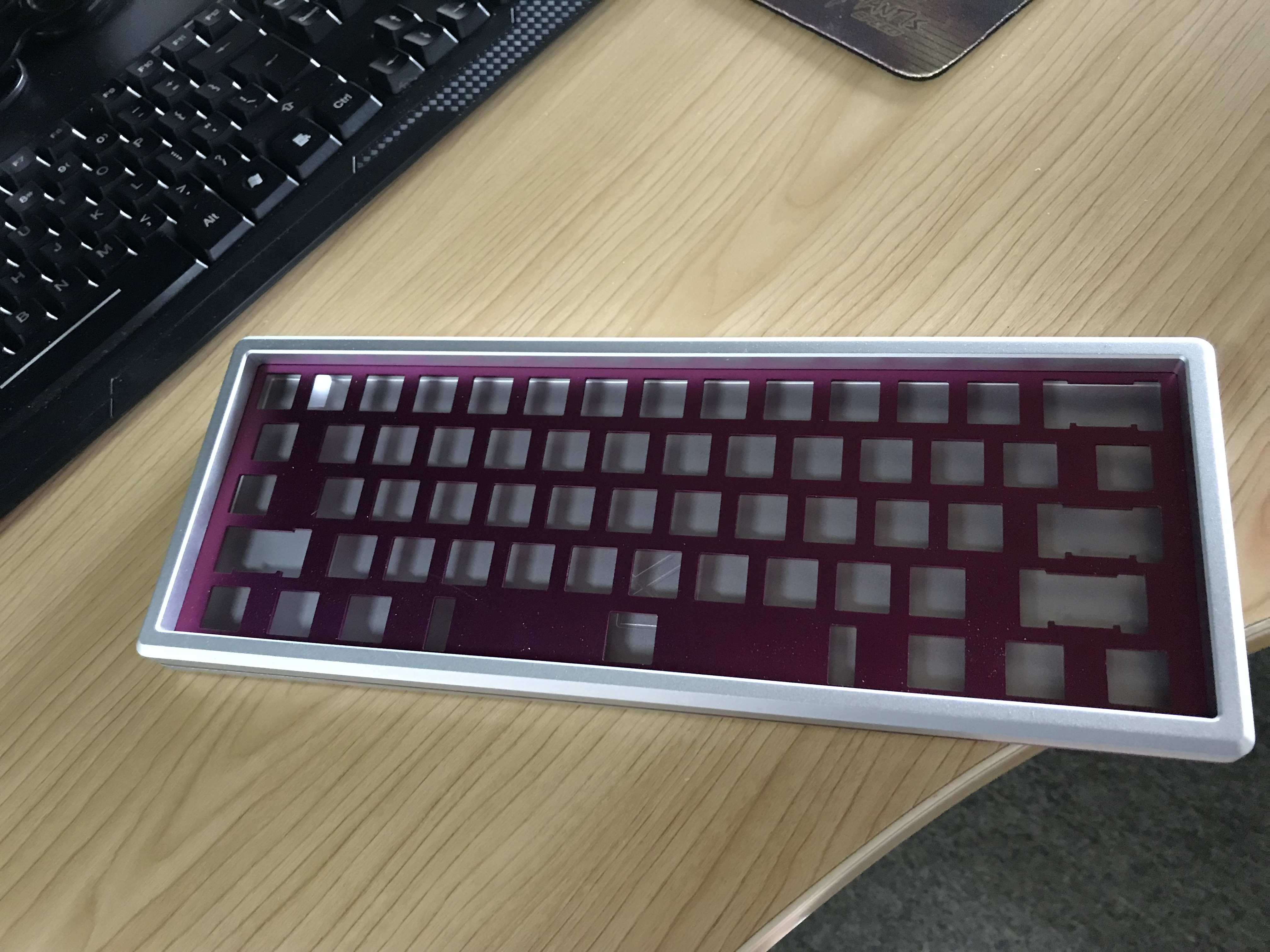 2018 CNC made smart custom keyboard mechanical for computer