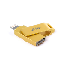 USB Flash Drive 16GB 32GB 64GB For iPhone 7 7 Plus 6 5 5S Liightning to Metal Pen Drive U Disk for IOS10 memory stick 128GB