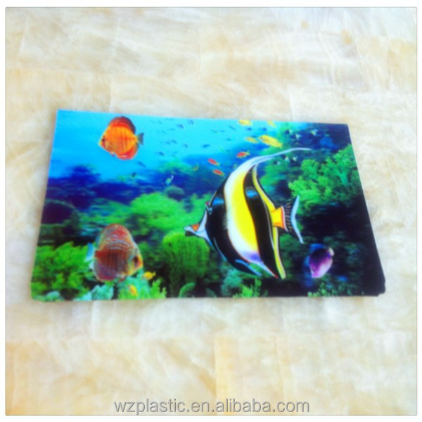 OEM High definition 3D lenticular picture
