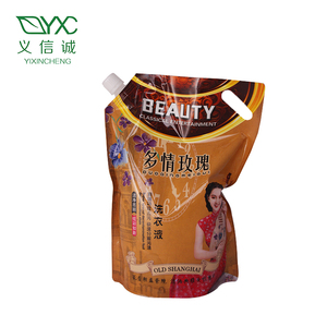 Factory Price New Style New Laundry Detergent Liquid Liquid Detergent In Bag Packing