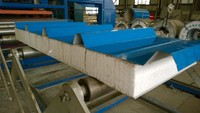 eps sandwich roof panel for warehouse