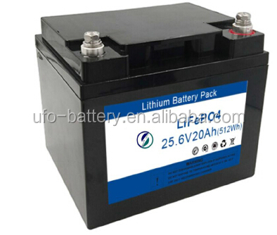 Lithium Battery 24V 20Ah LifePO4 Battery Pack for Robot and e-bike