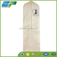 70'' nonwoven gown bag for Wedding dress shop