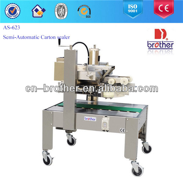 Brother AS623A Semi-Automatic Carton box packing Machine