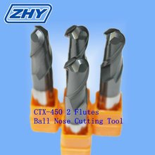 ZHY Stocked Ball Milling Tool/CNC Machinery Ball Tips Cutting Bits