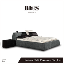 Youthful style unique simple design modern double bed designs