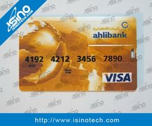 Ultra Slim Credit Card Shape USB 512MB with Full Color Printing
