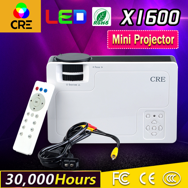 CRE mini led projector/beam for tablet pc dvd mobile phone