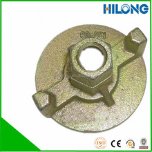 Galvanized wing nut/anchor nut/slope plate for formwork accessories