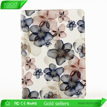 for new apple ipad air 2 pu flower case