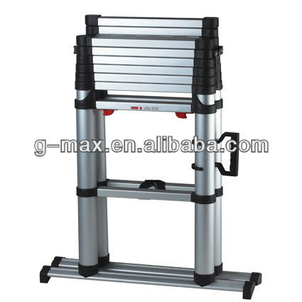 1.76-2.93m Aluminum Telescopic Stepladder