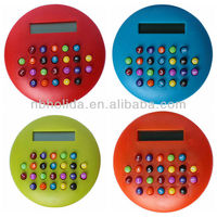 8-digit promotional gift calculator for kids (color button), HLD602