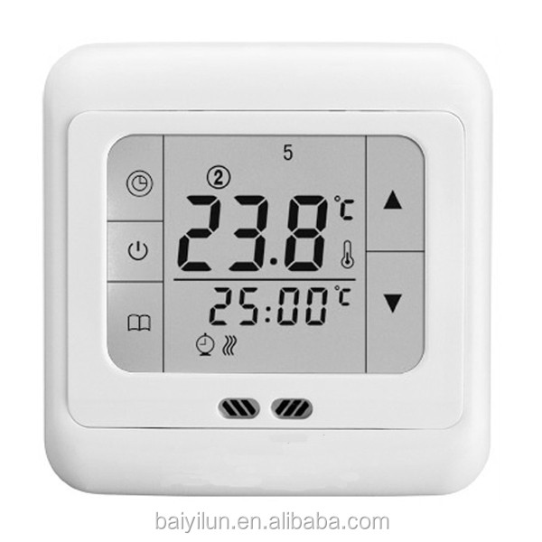 Digital Weekly Programmable LCD Touch Screen Room Thermostat