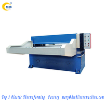 HW-80T four-column auto balance hydraulic thermoforming plastic cutting machine for plastic tray